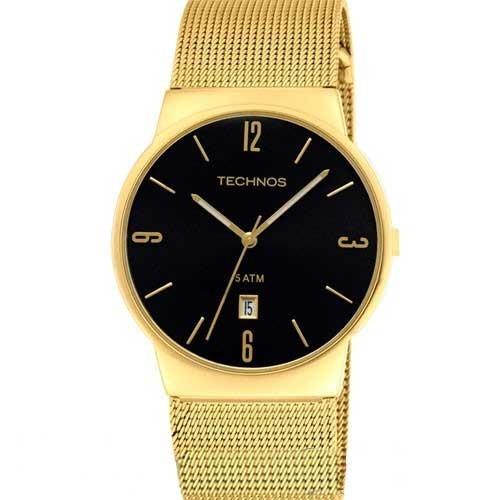 12bd4a007c312 Relógio Technos Feminino Dourado - Gm10ih 4p Loja Autorizada - R ...