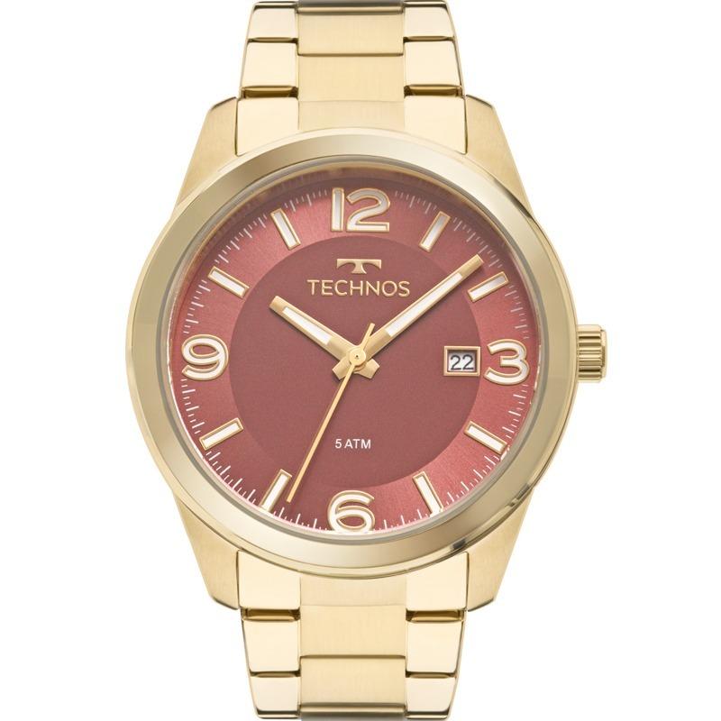 relógio technos feminino dress dourado promoção 2115mna 4r. Carregando zoom. 1ae39a933f