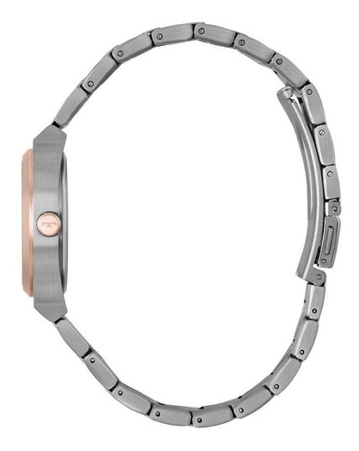 relógio technos feminino dresser  prata /rose