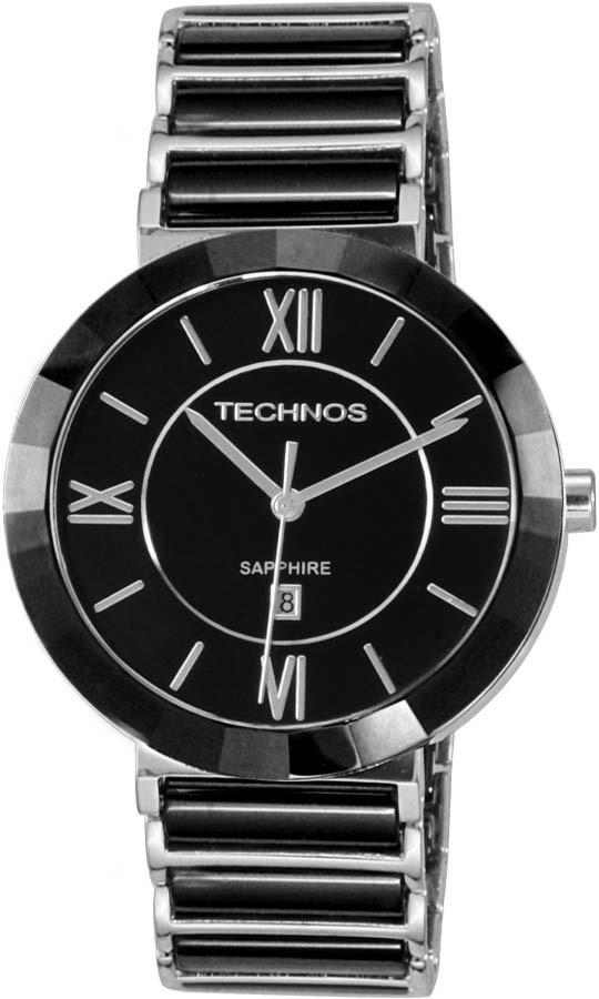 relógio technos feminino elegance ceramic sapphire 2015bx 1p. Carregando  zoom. 9defcbb5ec