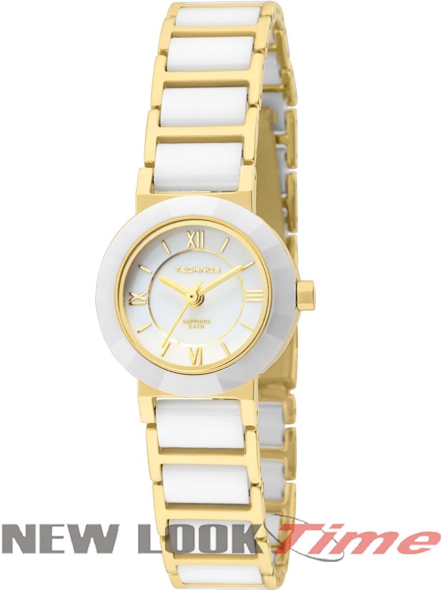 82c8288b8f8ae relógio technos feminino elegance ceramic sapphire 2035lwe 4. Carregando  zoom.