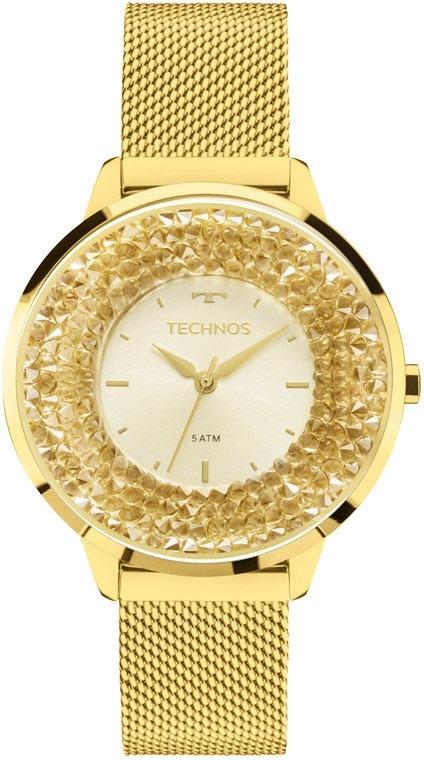Relógio Technos Feminino Elegance Crystal 2035mlg 4x - R  511,58 em ... 483d4e8db5