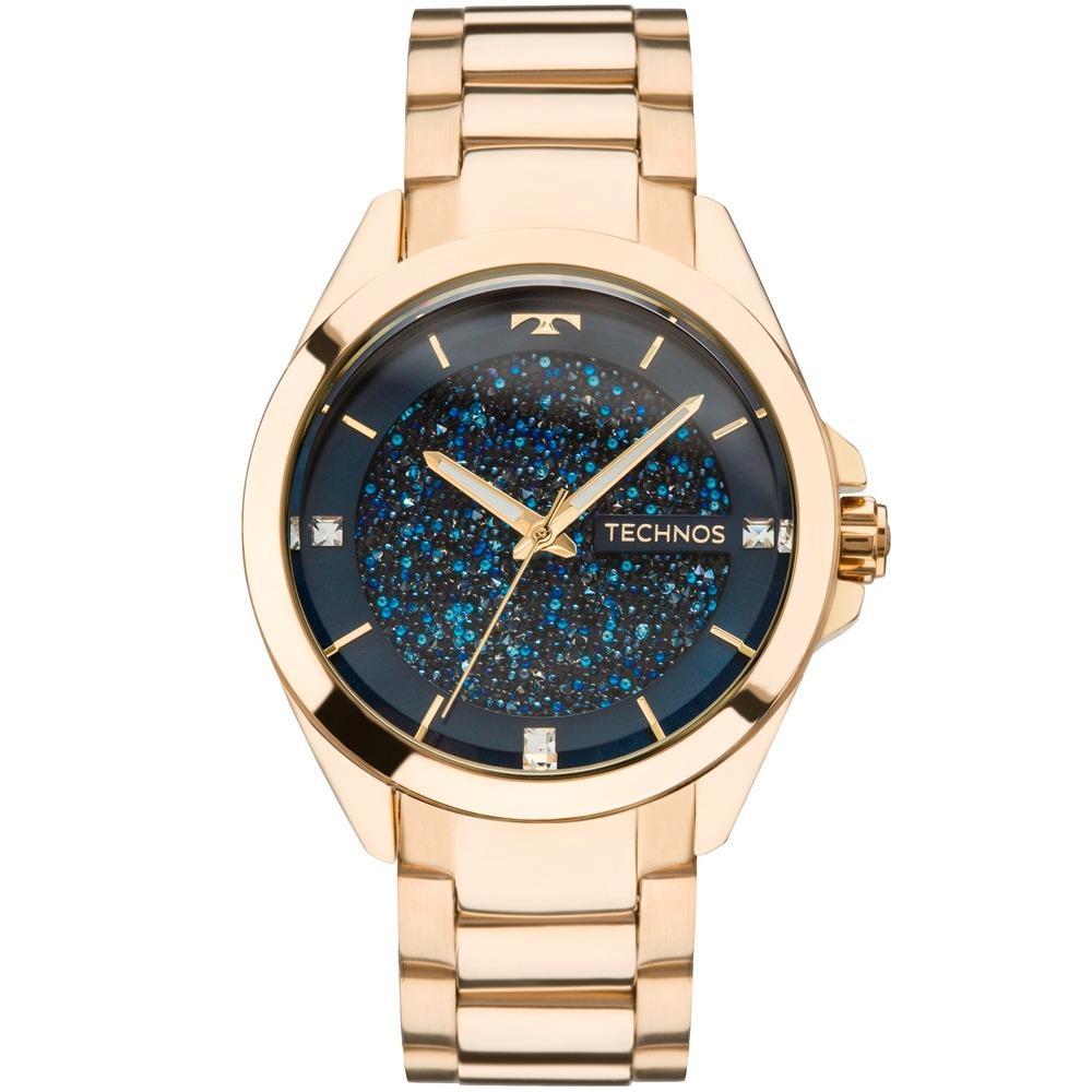 0427eb2862c relógio technos feminino elegance crystal dourado 203aaa4a. Carregando zoom.