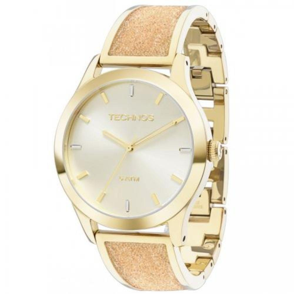5b5235600d9 relógio technos feminino elegance crystal swarovski 2035lyb. Carregando  zoom.