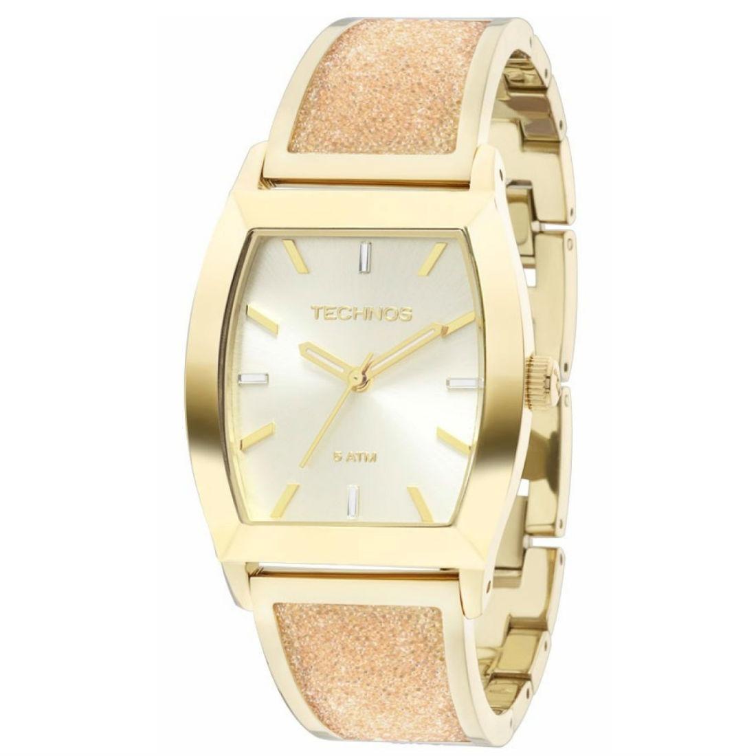 69d916fd1c9f9 relógio technos feminino elegance crystal swarovski. Carregando zoom.