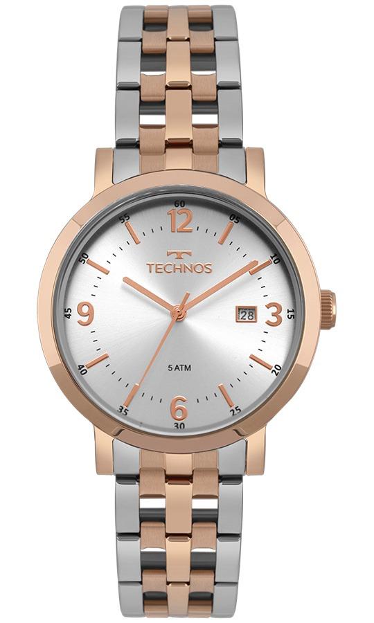 943643089abd9 relógio technos feminino elegance dress rosé 2115mpe 5k. Carregando zoom.