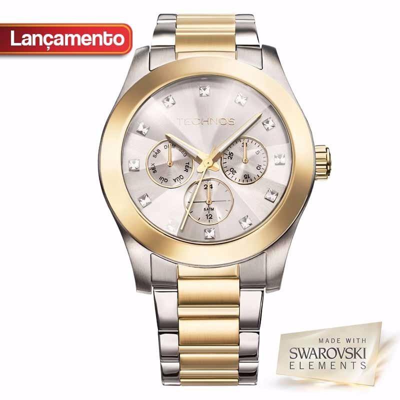 efbfe4583ce80 relógio technos feminino elegance swarovski 6p29agh 4k. Carregando zoom.