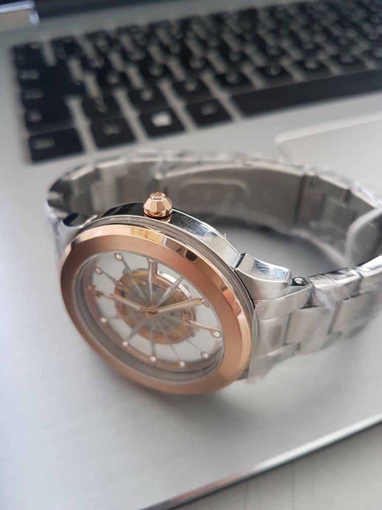 fea19c73b8a relógio technos feminino essence suiço f03101ab k1 rose. Carregando zoom.