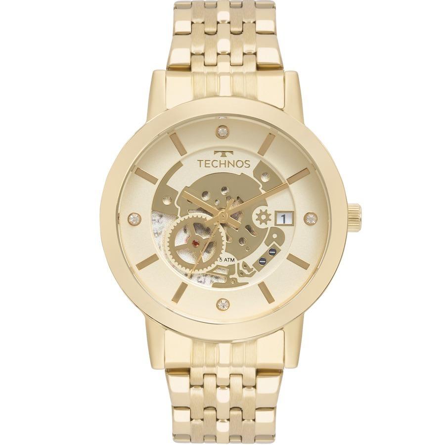 cea1e6c0d475f relógio technos feminino fashion trend dourado 2117lao 4x. Carregando zoom.