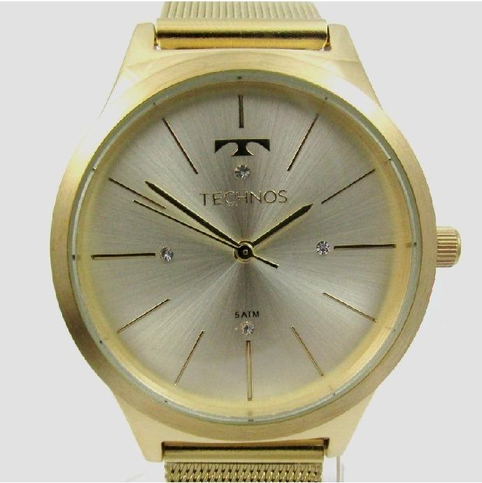4962c5e17db Relógio Technos Feminino Folhado Fashion Trend 2039bd 4d - R  298