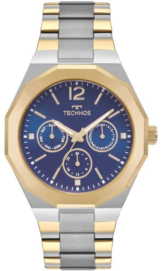 d58ee9ac1e3ad Relógio Technos Feminino Ladies Bicolor - 6p29ajd 4a - R  430,00 em ...