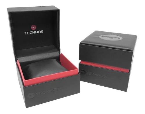 relógio technos feminino original c/garantia nf 6p73af/1x