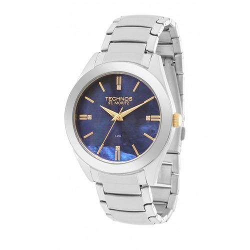 relógio technos feminino prata st. moritz 2036mez/1a origina