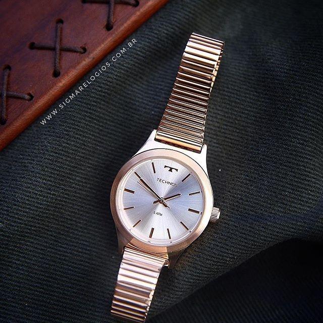 6b358827eda Relógio Technos Feminino Rosé Elegance Boutique 2035mmg 4k - R  234 ...