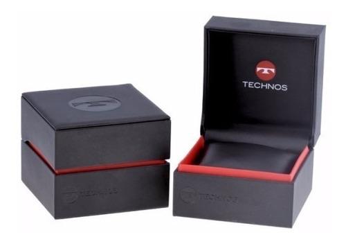 relógio technos feminino sapphire ceramica preto - 2015ce/4p