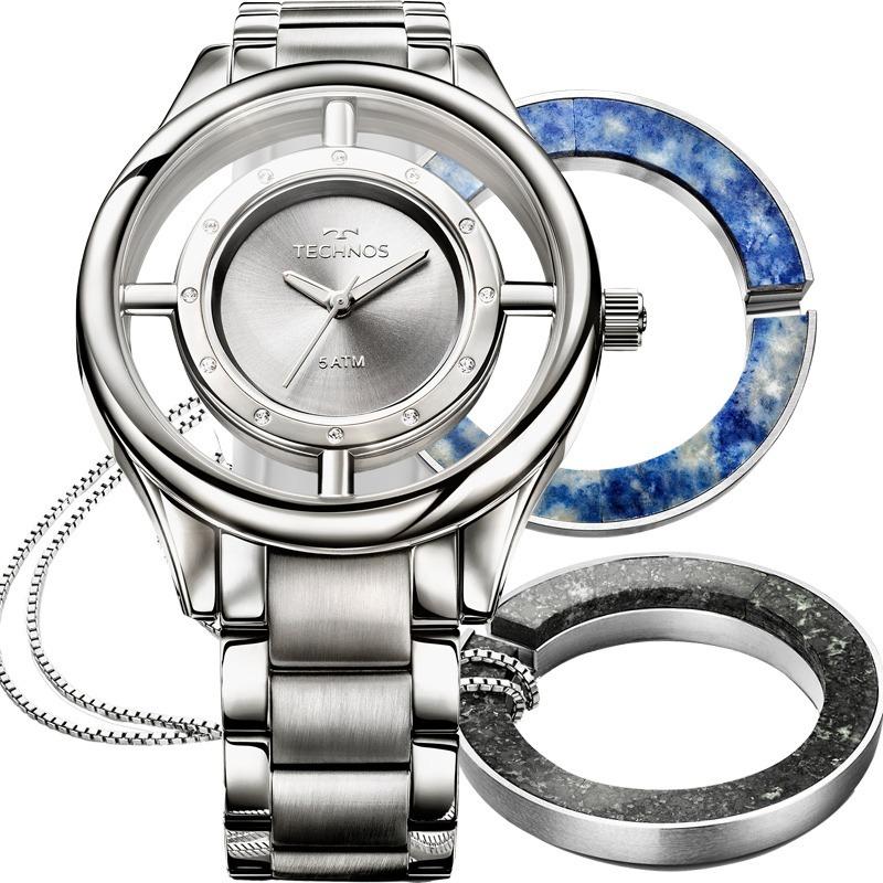 b05e0dac119b5 relógio technos feminino signature gl30fl k1k. Carregando zoom.