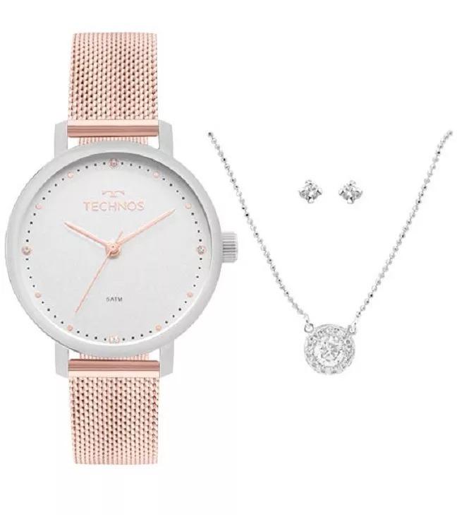 Relógio Technos Feminino Slim Rose - 2035mmm k5k - R  389,00 ... d7d929d2e2