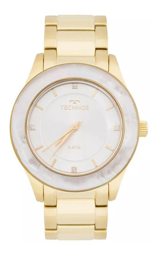 relógio technos feminino st. moritz analógico 2036mgk/4b