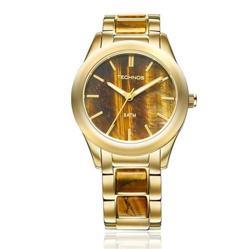 a4f3521b6f6 Relógio Technos Feminino Stone Collection 2033ad 4m - R  472