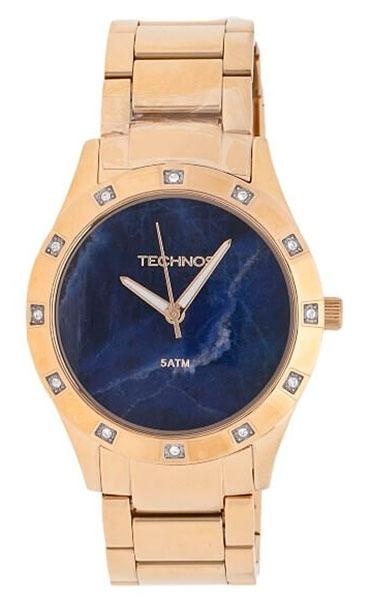 e9e0054f334 Relógio Technos Feminino Stone Collection Sodalita - 2033aa  - R ...