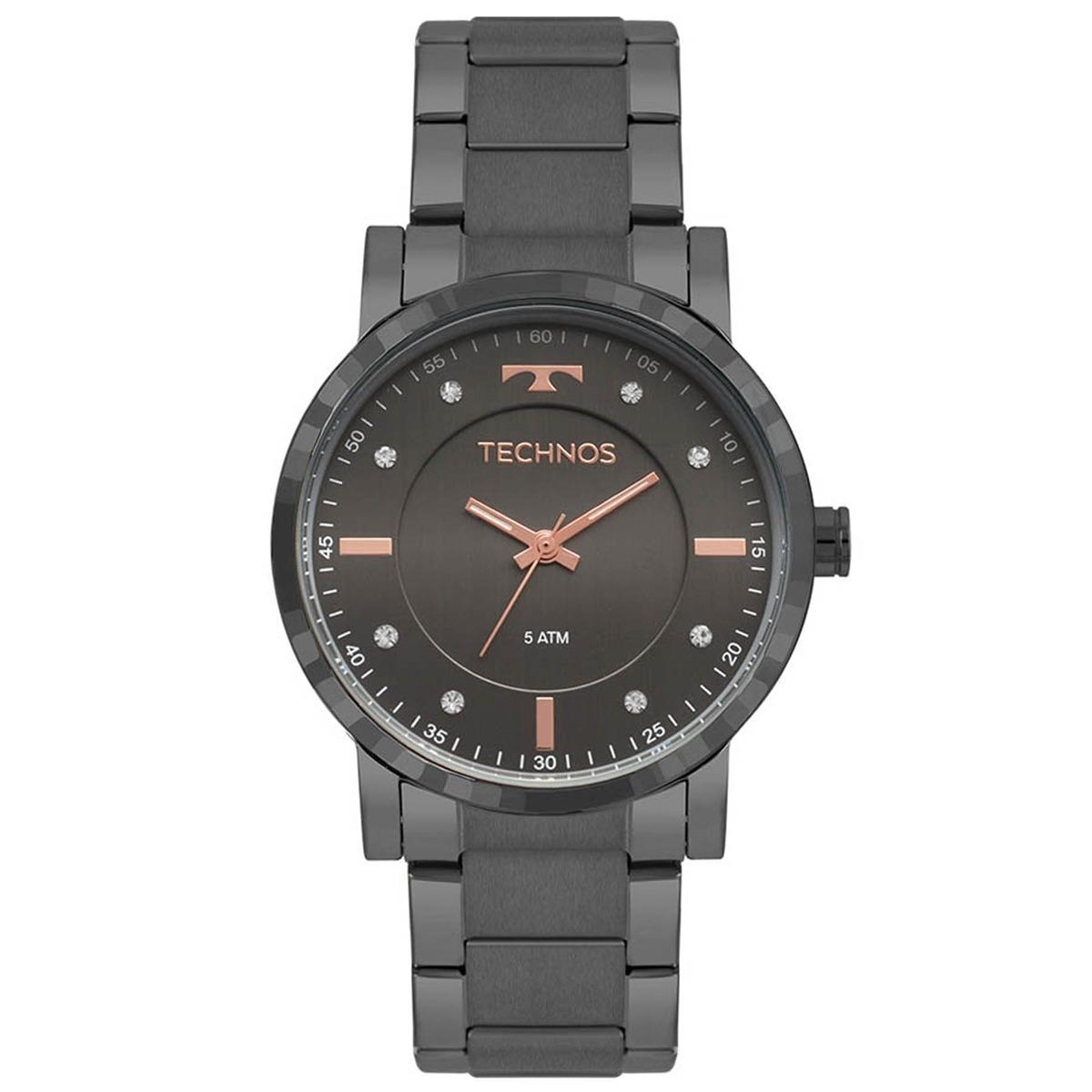 de9182728c328 relógio technos feminino swarovski 2036mjr 4c. Carregando zoom.