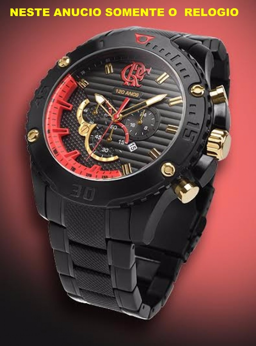 9507b560d3d relógio technos flamengo flaos2aaa 3p frete gratis. Carregando zoom.
