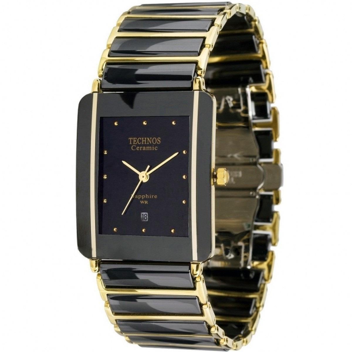 relógio technos gn10aa 4p elegance ceramic sapphire nf-e. Carregando zoom. 0e0ef00c24