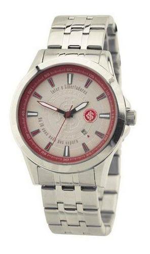 relógio technos internacional escudo prata