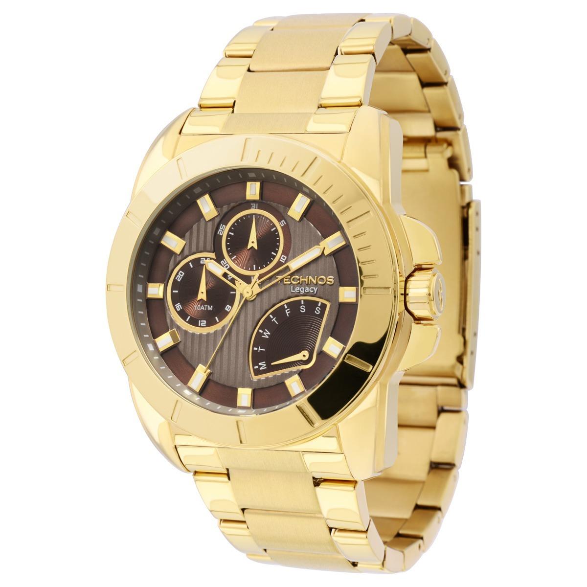 574b71fc8af relógio technos legacy dourado multifunção - jr00ap 4m show. Carregando  zoom.