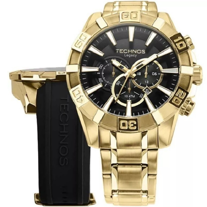 relógio technos legacy kit troca pulseira os2aajac 4p c  nfe. Carregando  zoom. eabda647b2