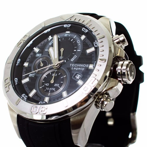 a08b8e0edd979 Relógio Technos Legacy Masculino Extra Grande Js15bb 8p Top - R  612 ...