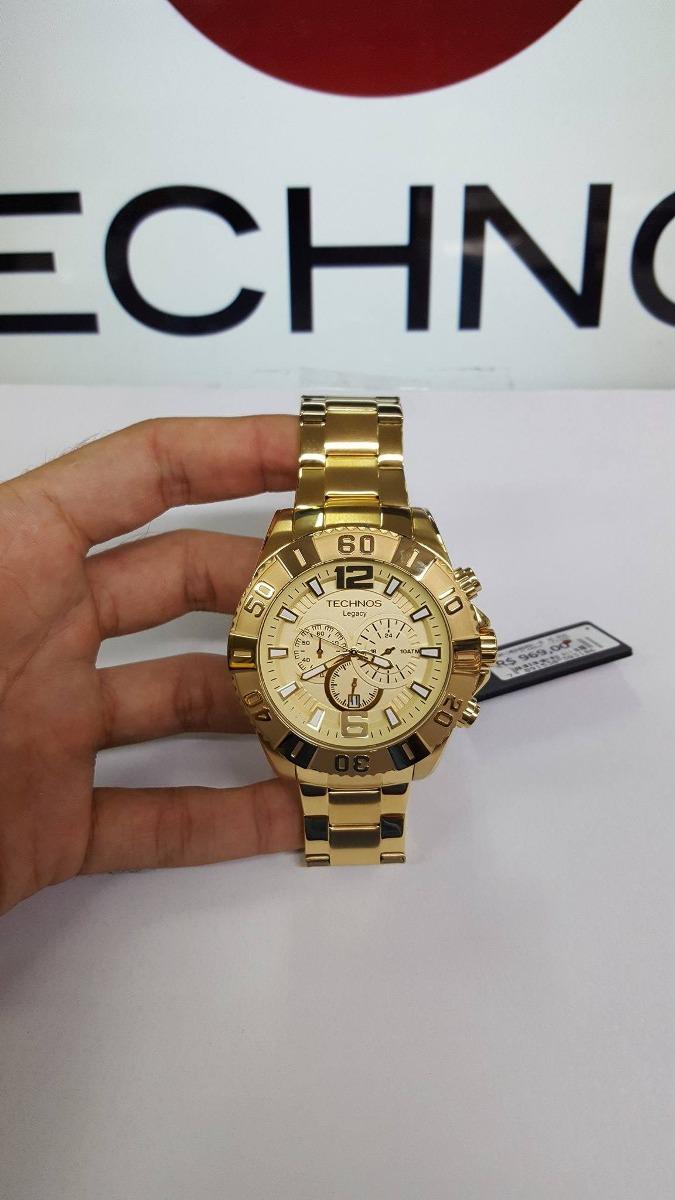 Relógio Technos Legacy Os20ib Dourado Caixa Grande - R  590,00 em ... 8751daac51