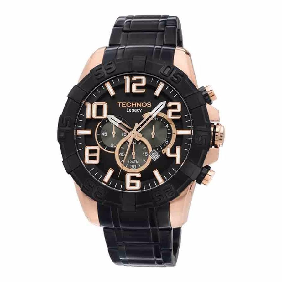 59b90a4000812 Relógio Technos Legacy Preto C Dourado Rose Os20il 1p - R  679,00 em ...