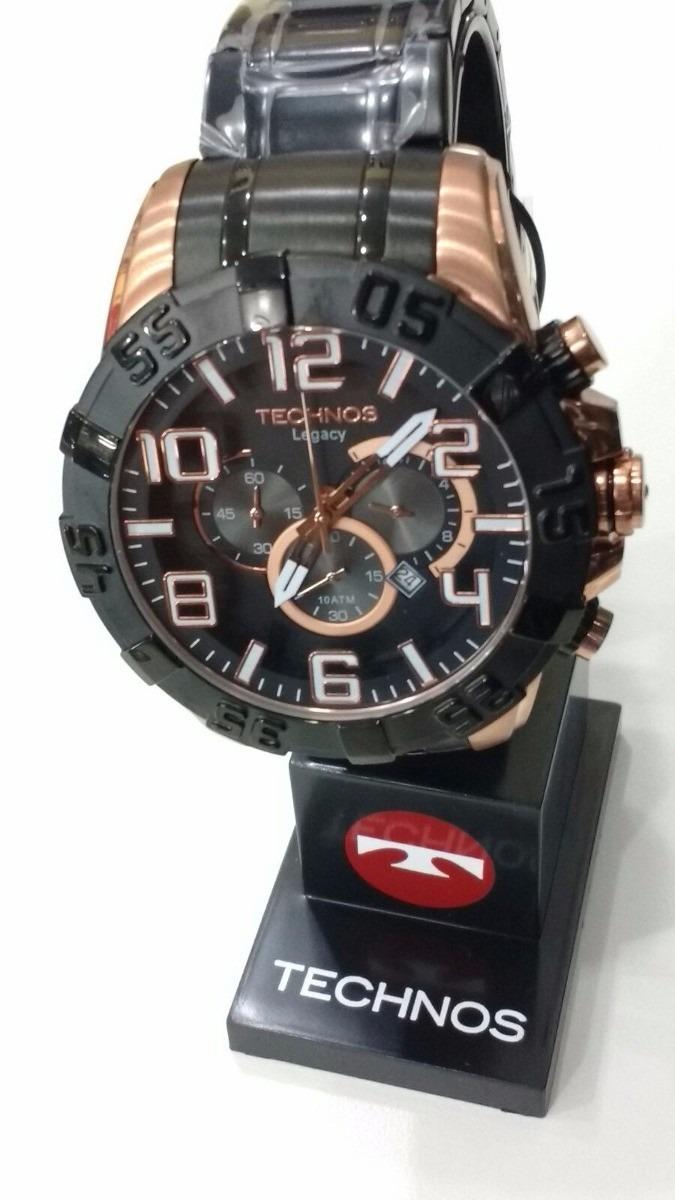 755182a5066b0 Relógio Technos Legacy Preto C Dourado Rose Os20il 1p - R  679,00 em ...