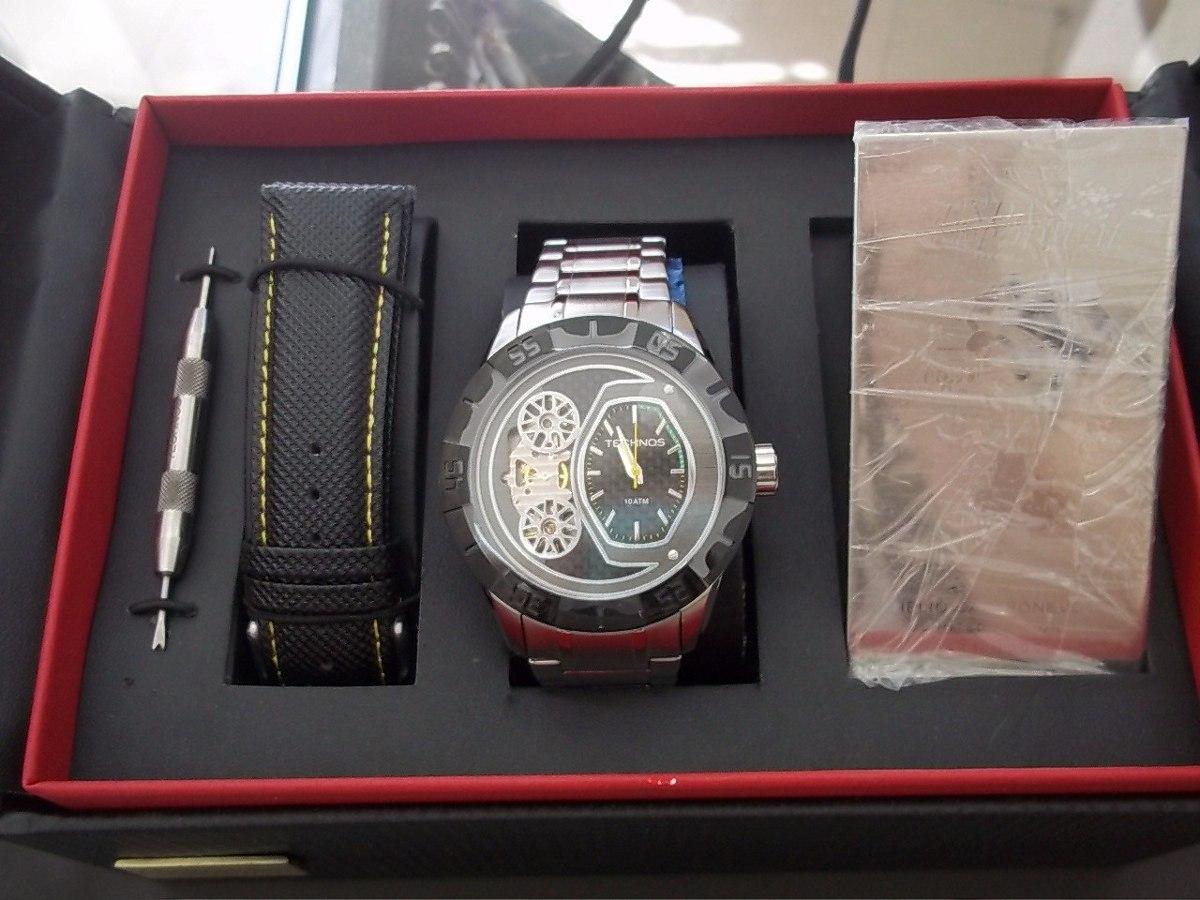 64eee34e1cad7 Relógio Technos Lendas Do Podium Helio Castroneves - R  1.176,00 em ...