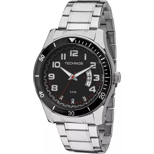 relógio technos maculino performer racer -2115ksl/1r