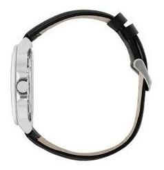 relógio technos masculino 2115ksj/0p aço couro oferta