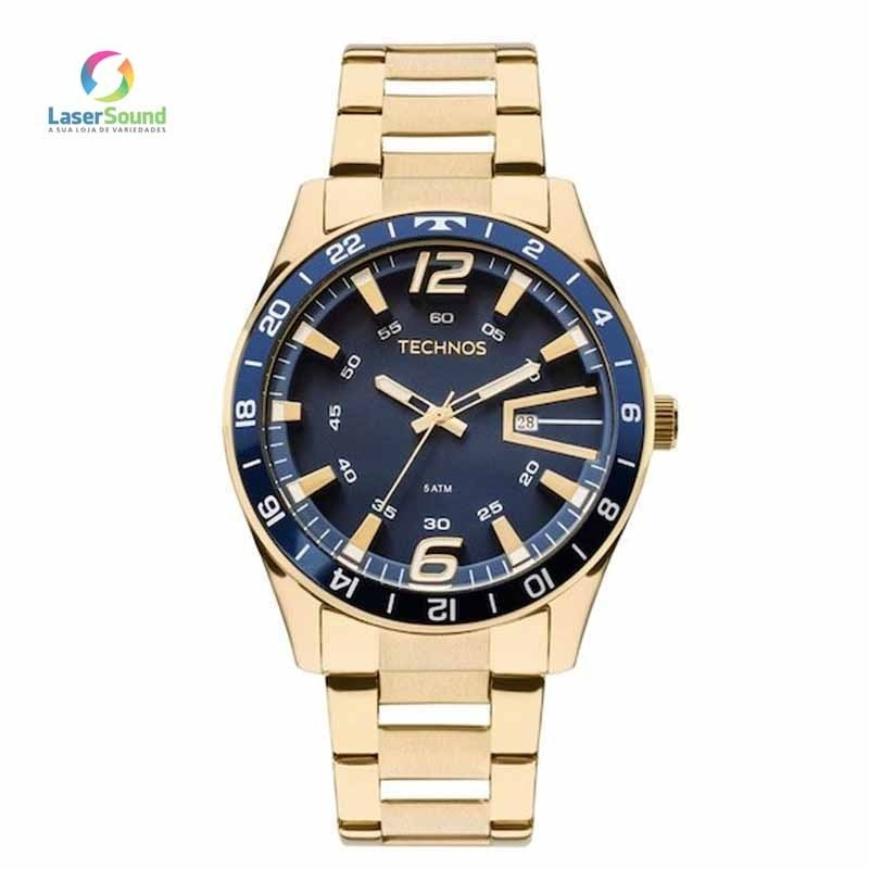 67d9e55a8ddbe Relógio Technos Masculino 2115laj 4a, C  Garantia E Nf - R  339,00 ...