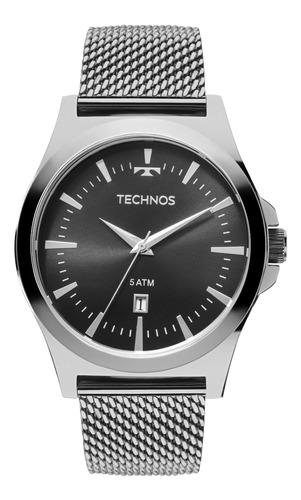 relógio technos masculino 2115lal/0p garantia de 1 ano novo