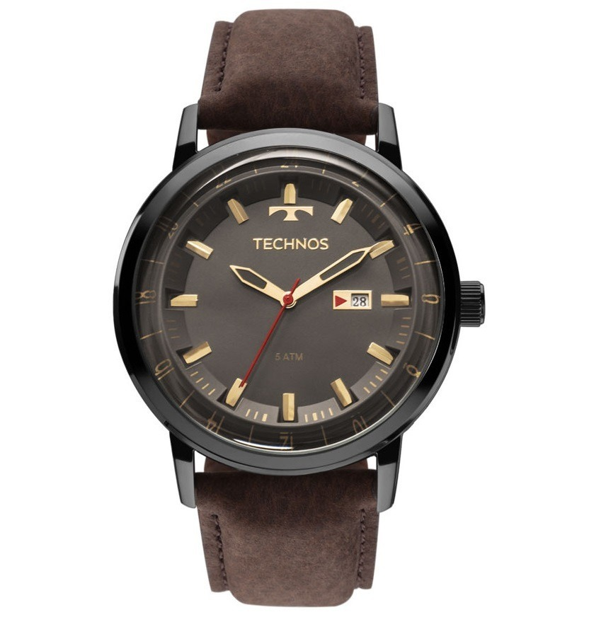 9b533b0bc1d relógio technos masculino 2115laq 2c courom - o mais vendido .