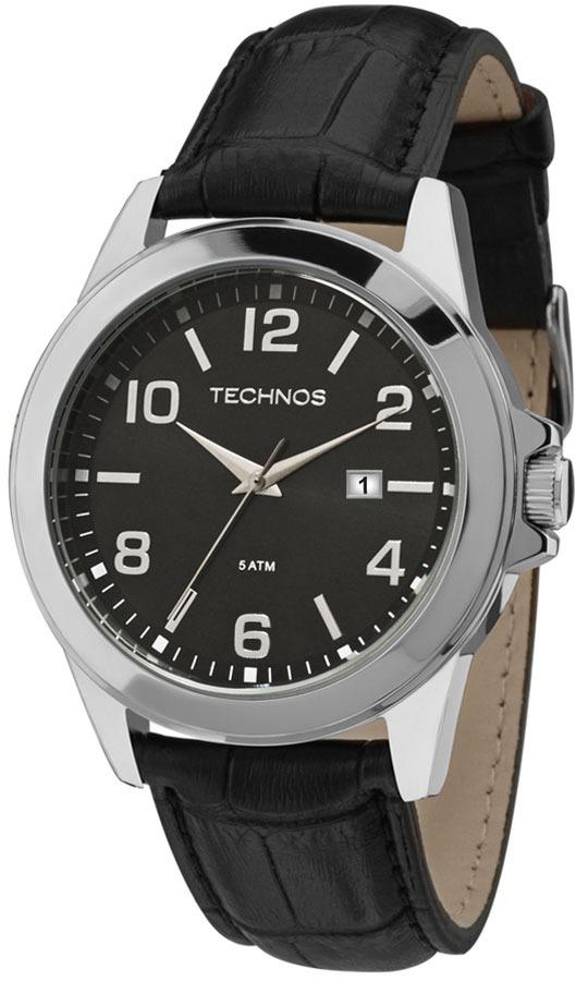 90bebf2f579 relógio technos masculino 2115mlb 0p aço couro oferta. Carregando zoom.