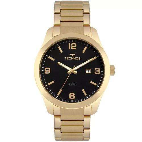relógio technos masculino 2115mpl/4p original barato