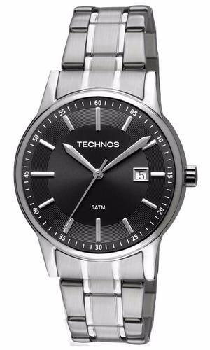 relógio technos masculino 2115ro/1p original nota fiscal