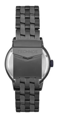 relógio technos masculino 6p29ajv/4p original nota fiscal