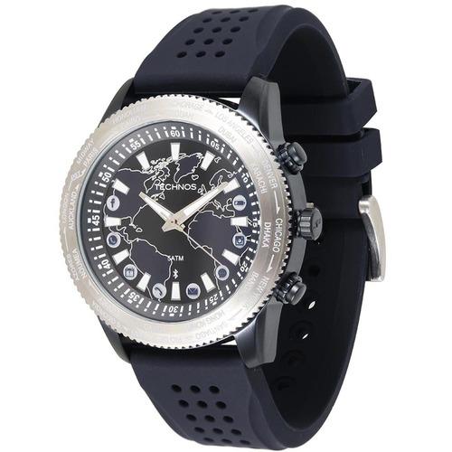 relógio technos masculino 753ab/8a 005590rean