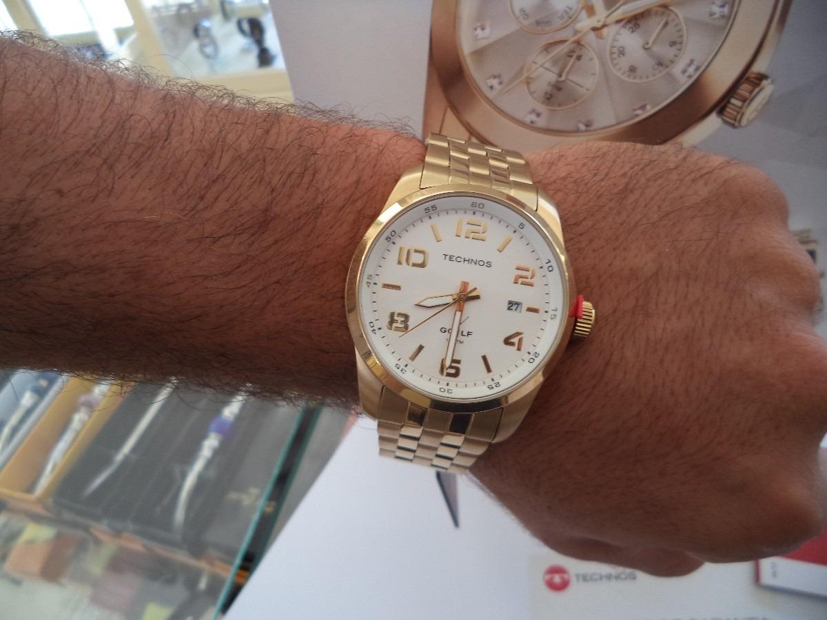 7d1360339f0 Relógio Technos Masculino Classic Golf 2315gc 4b - R  285