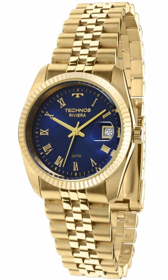 9b3c0113b92c7 Relógio Technos Riviera Masculino Ref  Gm10yc 4a - R  474