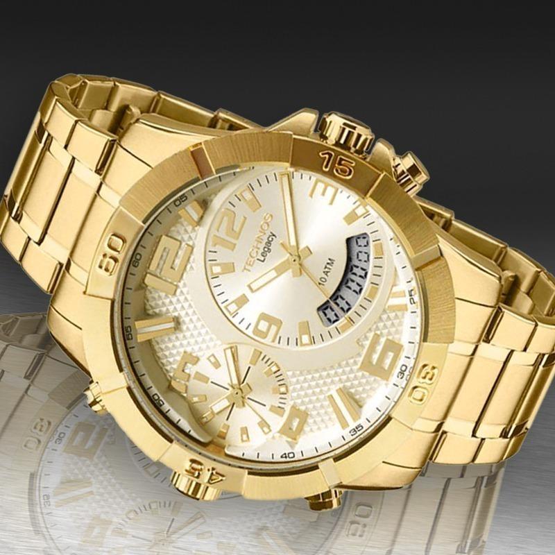 c2d08b44488 Relógio Technos Masculino Legacy Extra Gde T205fi 4x C  Nfe - R  645 ...