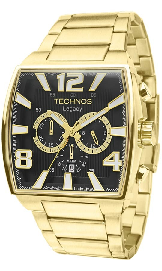 2cacb1b35d713 Relógio Technos Masculino Classic Legacy Js25ar 1d - R  959,00 em ...