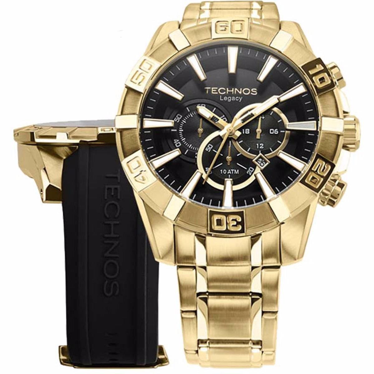 8d0ba755be9 Relógio Technos Masculino Classic Legacy Os2aajac 4p - R  949